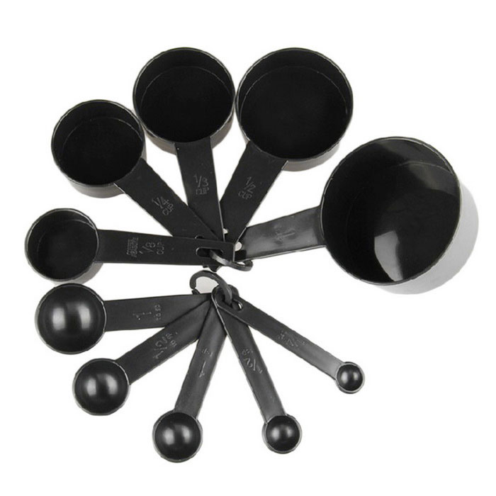 Measuring Cup And Spoon Utensil Set Kit Tools For Kitchen