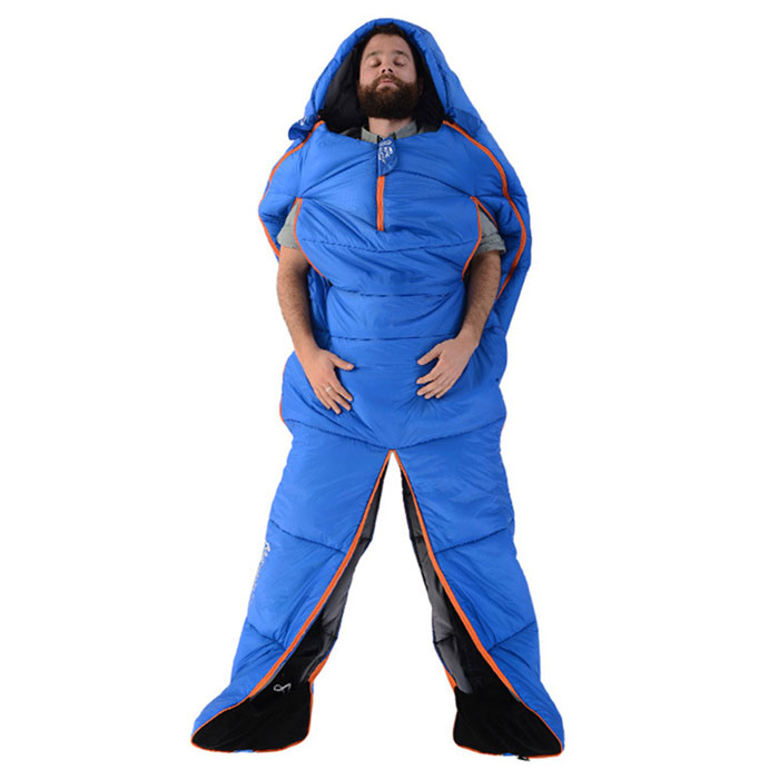 Camping Outdoor Almoço Interior Adulto Sleeping Bag - Azul