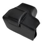 PU Leather Camera Case Bag for Olympus EM10II Mini DSLR - Black