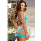 Europe Style Perspective Sexy Backless Women's Sexy Lingerie
