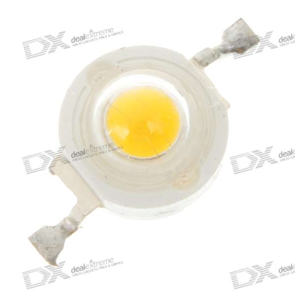 1W 90LM 3200K Warm White LED Emitter (3.2V)