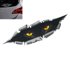 ZIQIAO 3D Car Sticker Funny Decal Wild Beast Voyeur Window Decoration