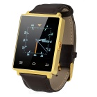 NO.1 D6 Android Phone 5.1 smartwatch w / 1GB de RAM, 8GB ROM - ouro