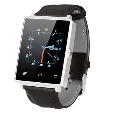NO.1 D6 Android 5.1 Smartwatch Phone w/ 1GB RAM, 8GB ROM - Silver