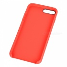 Protective PU Back Case for IPHONE 7 PLUS - Red