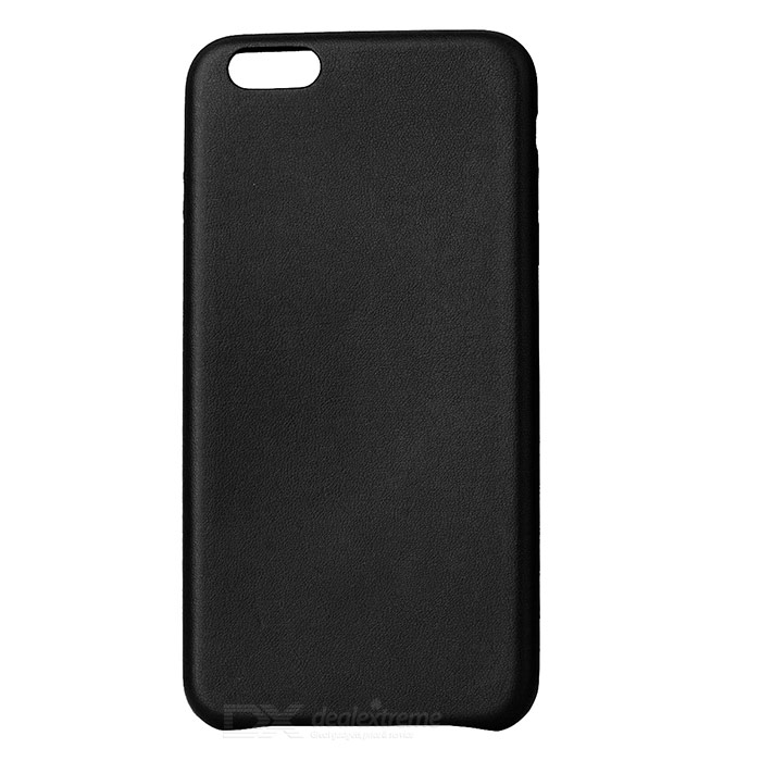 Protective PU Back Case for IPHONE 7 PLUS - Black