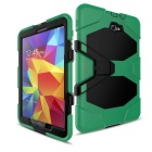 Hybrid Stand Heavy Duty Hard Back CaseFor Samsung T580 - Green