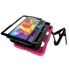 Hybrid Stand Heavy Duty Hard Back Case for Samsung T580 - Dark Pink