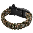 Ctsmart multifuncional supervivencia paracord pulsera - AT camuflaje