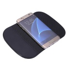 Silicone Car Anti-slip Mat Phone Holder - Black