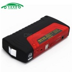 CARKING 16800mAh Banco de arranque de coche Power Bank LED - Rojo + Negro