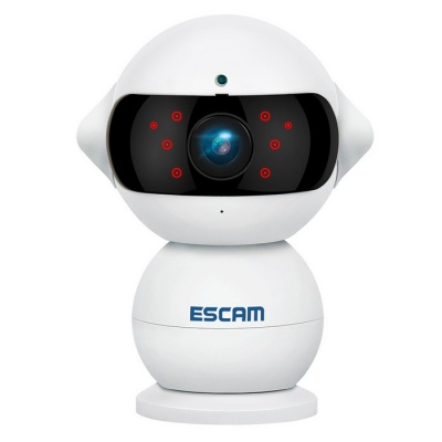 ESCAM QF200 960P mini robot 1.3MP wi-fi AP IP Camera IP (spina europea)