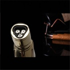Cobra Style Portable Outdoor Windproof Torch Lighter - Silver