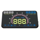 Car Projection System Head Up Display - Black + Multicolor