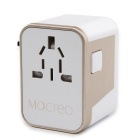 MOCREO Travel Plug Adapter 4-Port USB AC Travel Wall Charger - White