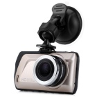"2.3"" TFT 1080P 170"" Wide-Angle LED Car DVR - Black + Gold"