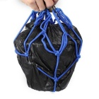 QooK 6 Hooks Hold Down Web Net Bungee Storage Bag - Blue