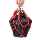 QooK 6 Hooks Hold Down Web Net Bungee Storage Bag - Red