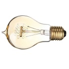 E27 40W A19 Edison Vintage Filament Bulb Warm White Light