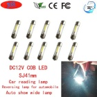JRLED SJ41mm 1W Cool White COB LED Car Reading Lamps ( DC12V/10PCS)