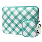 "Folk Estilo Laptop Sleeve Kit Bag + bolsa alimentação para 13,3 ""Laptop"
