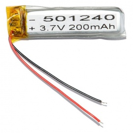 501240 Replacement 200mAh 3.7V Battery for Mobile Phone / MP3