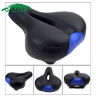 CARKING Road Bike Big Hollow Saddle Seat Mat MTB Parts - Black + Blue