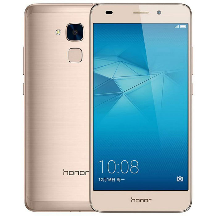 "Huawei Honor 5C 5.2"" Android 6.0 4G Phone w/ 3GB RAM, 32GB ROM - Gold"