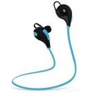 Outdoor Sports Bluetooth V4.0 In-Ear Earphone - Black + Blue
