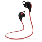 Outdoor Sports Bluetooth V4.0 Stereo In-Ear Earphone - Black + Red