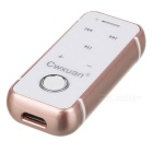 Cwxuan Clip-on Bluetooth V4.1 Headset w/ Earphone Set - Rose Gold