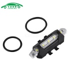 Luz de advertencia de seguridad de carga LED USB MTB roadbike portátil luz de advertencia