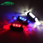 Portable LED USB MTB RoadBike Taillight Charging Safety Warning Light