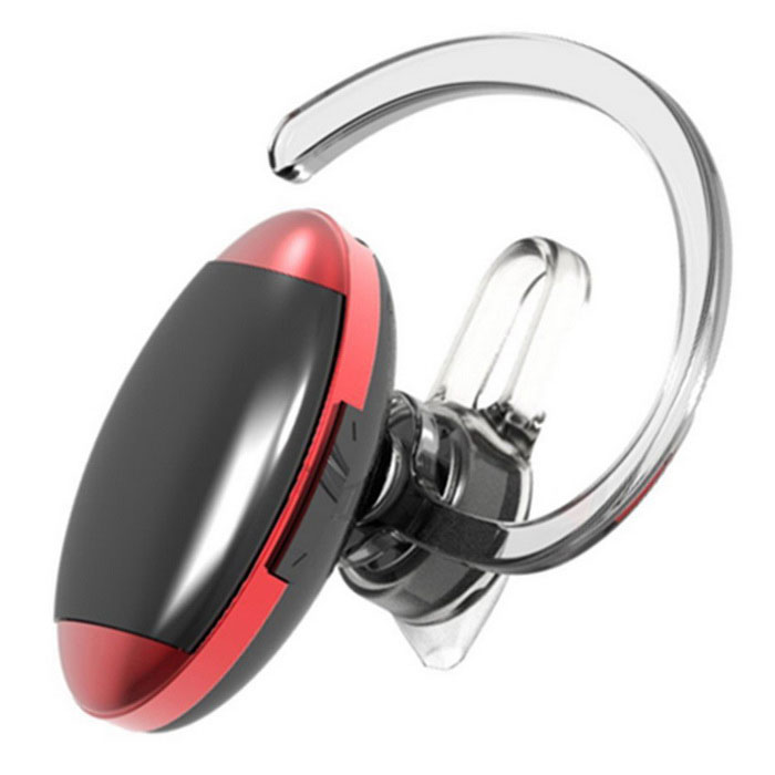 Kilinee Mini Ear-hook Bluetooth Sports Earphone - Red + Black