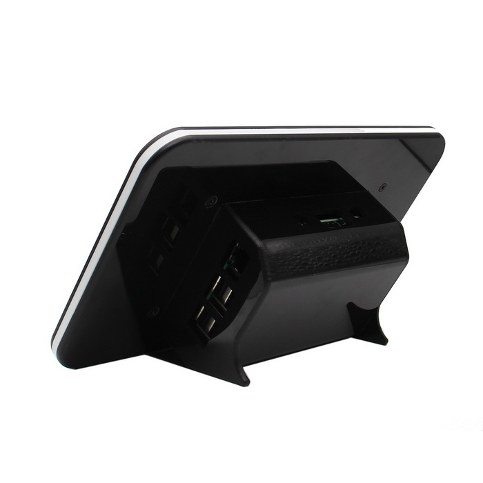 ABS Enclosures for Official Raspberry Pi Touch Screen - BlackRaspberry Pi<br>Form  ColorBlackModelN/AQuantity1 pieceMaterialABSEnglish Manual / SpecYesDownload Link   N/APacking List1 * ABS Enclosure<br>