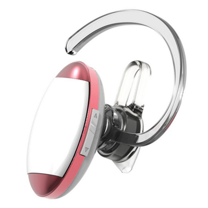 Kilinee Mini Ear-hook Bluetooth Sports Earphone - Red + White