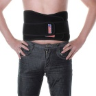 Adjustable Back Waist Magnetic Elastic Brace Support Wrap Belt - Black