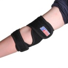 Rubber Adjustable Sports Elbow Elastic Pad Brace Support