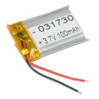031730 Replacement 100mAh 3.7V Battery for Mobile Phone / MP3