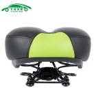 CARKING Road Bike Big Hollow Saddle Seat Mat MTB Parts - Black +Green