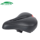 High Quality Silicone + Leather Road Bike Big Hollow Saddle Seat Mat MTB Parts