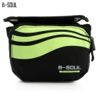 "B-SOUL YA0205 Bicycle Front Tube Bag for 5.7"" Phone - Green (1L)"