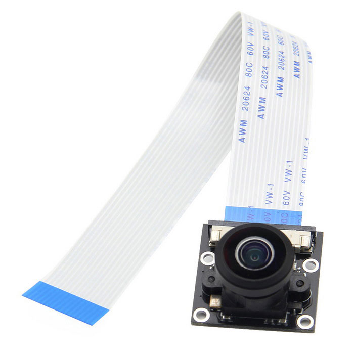 Geekworm Panoramic Camera Module for Raspberry Pi - Black + White