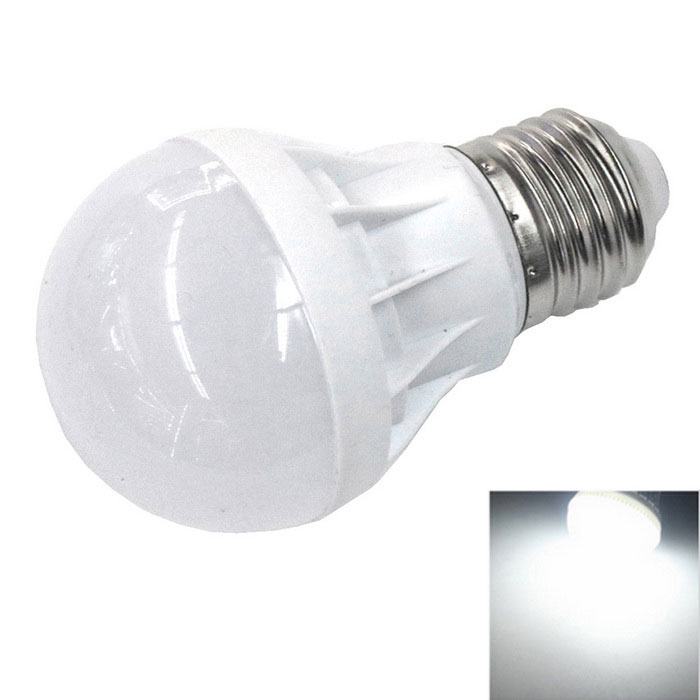 E27 7W 6000K 290lm 12-5730 SMD LED Bulb Cool White Light