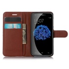 Lichee Pattern Protective Case for Doogee Y100 Pro - Brown