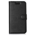 Lichee Pattern Protective Case for Doogee Y100 Pro - Black