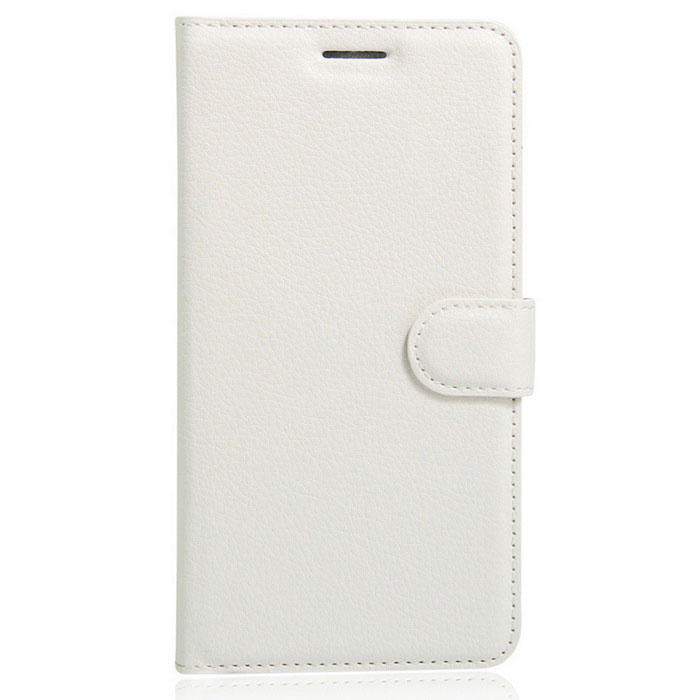 Lichee Pattern Protective Case for Doogee F5 - White