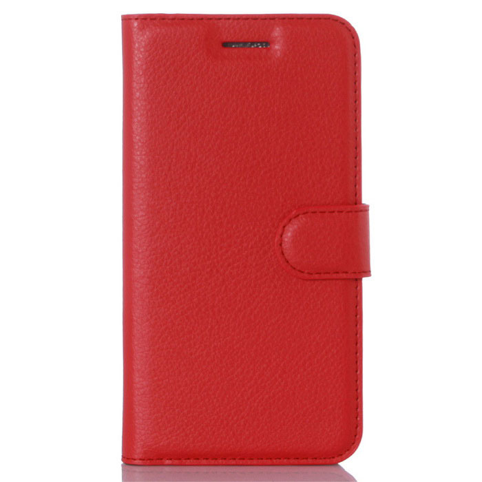 Lichee Pattern Protective Case for Doogee F3 /F3 Pro - Red