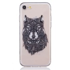 Buy Wolf Pattern TPU Protective Back Case Cover IPHONE 7