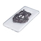 Wolf Pattern TPU Protective Back Case Cover for Samsung Galaxy Note 7